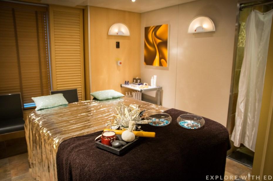 P&O Cruise, Ventura, Spa, Massage