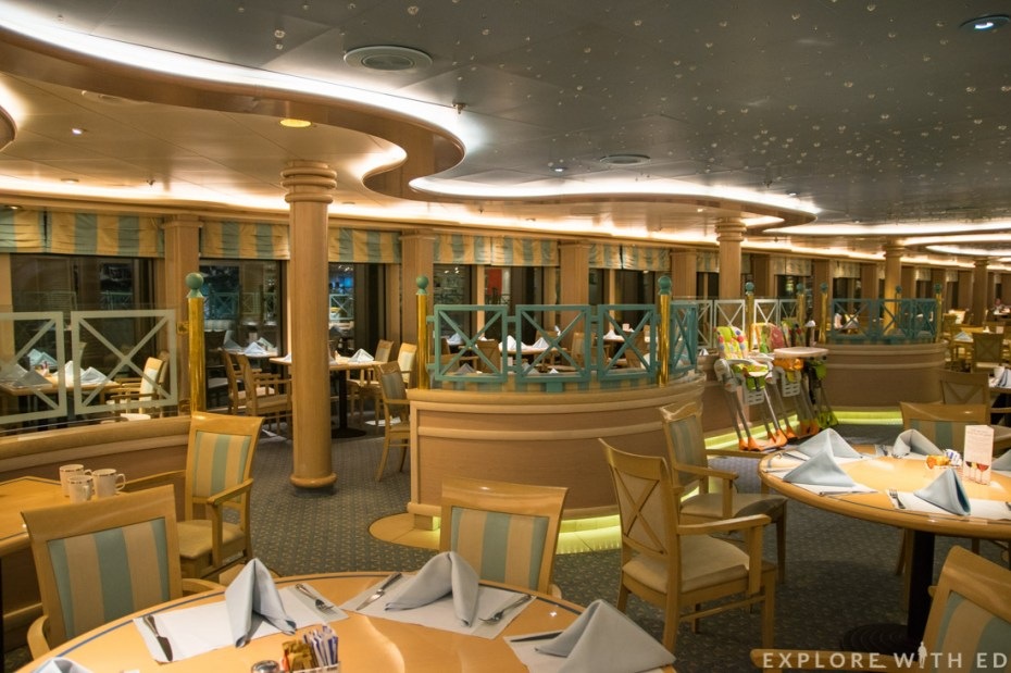 Waterside Buffet Restaurant, P&O Cruises Ventura