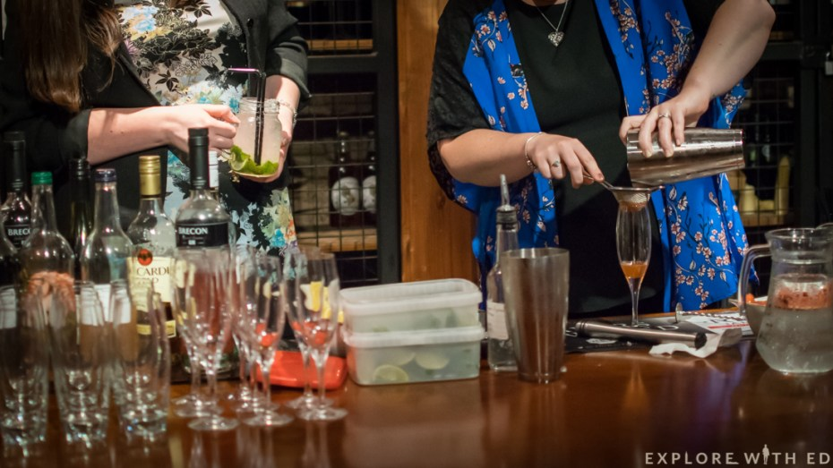 Cocktail class, Masterclass, The Celtic Manor, Blogger Event