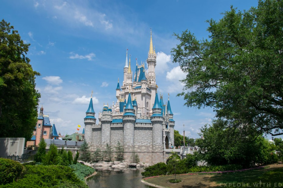 Cinderella's Castle in Magic Kingdom, Orlando Florida