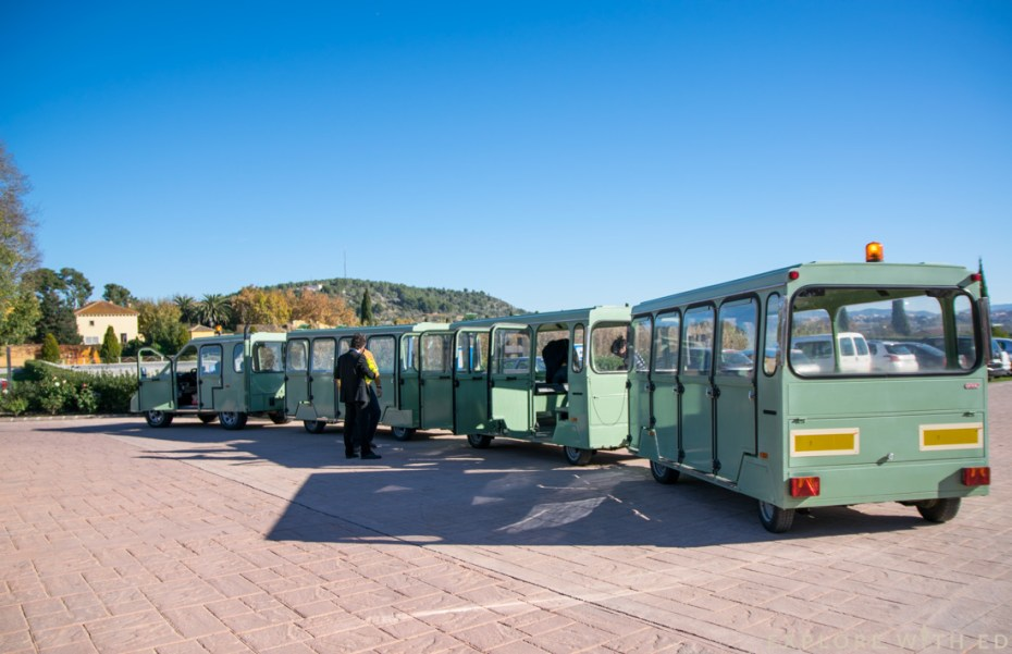 Land Train, Torres Winery, Pacs del Penedès