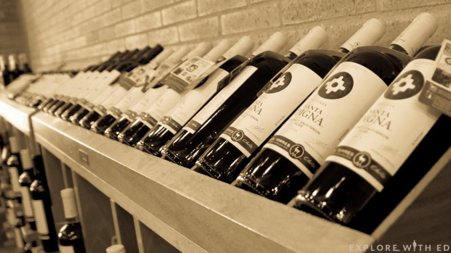 Wine bottles, Torres Winery, Pacs del Penedès