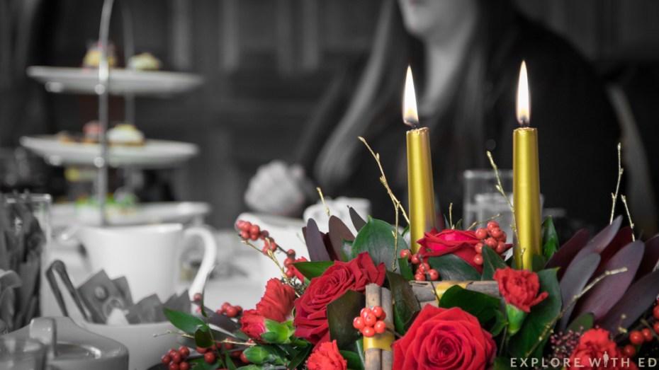 Christmas table centre piece