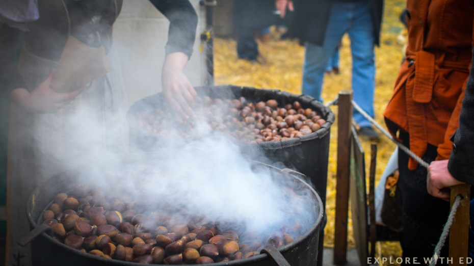 Roasted nuts, Ludlow Medieval Christmas Fayre