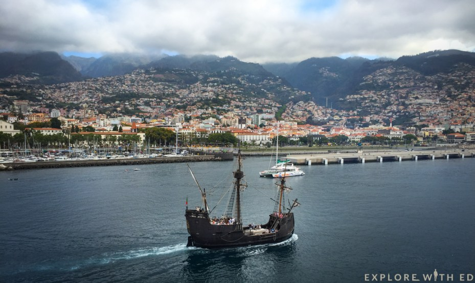 Cruise Port of Funchal Madeira