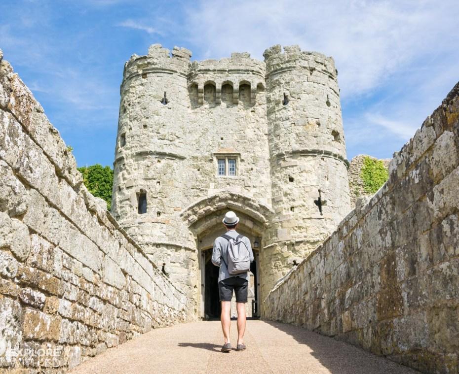 Exploring Carisbrooke Castle