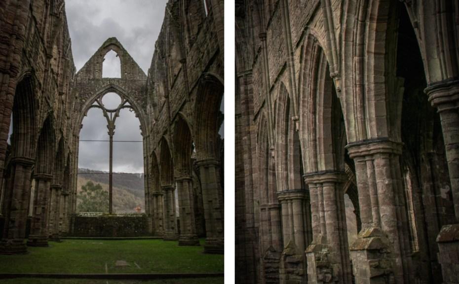 Inside Tintern Abbey, Tour of Tintern