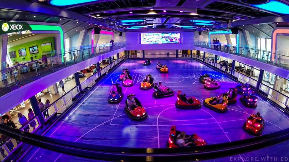 Anthem of the Seas Sports Room with Dodgems
