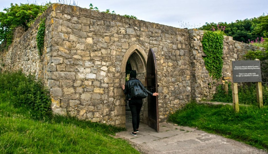 Dunraven Historic Walled Gardens Entrance, Southerndown, Vale of Glamorgan