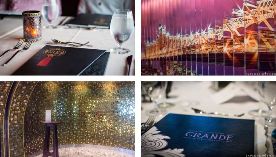 Anthem of the Seas Main Dining Rooms, Complimentary Restaurants