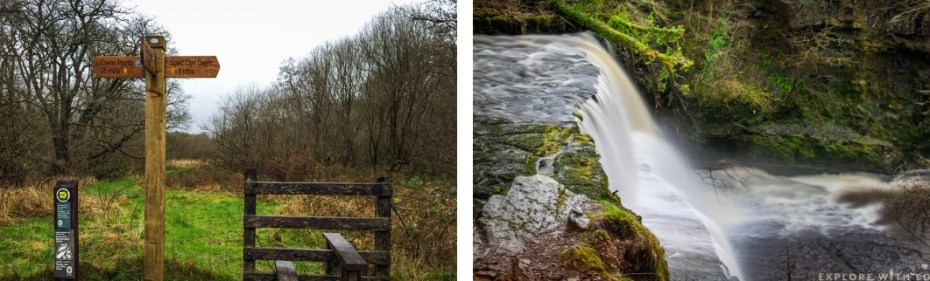 Brecon Beacons National Park, Four Falls Walk