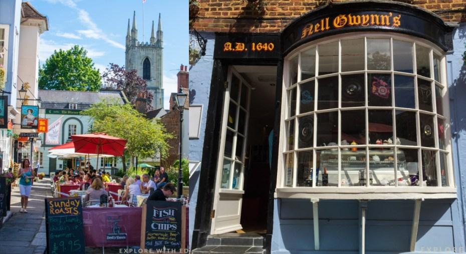 Nell Gwynns, Cafe, Windsor
