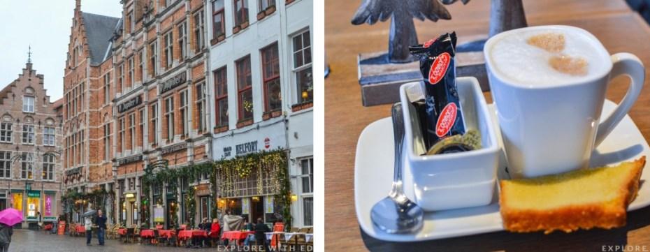 De Carre Cafe in Bruges