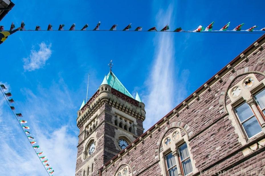 Abergavenny clock tower