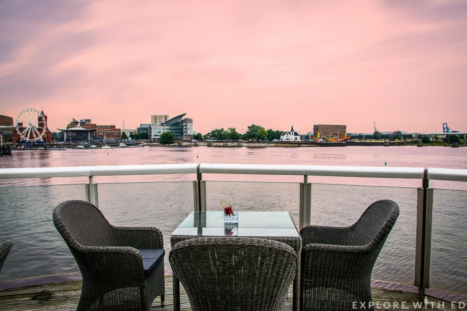 Tempus At Tides, View of Cardiff Bay