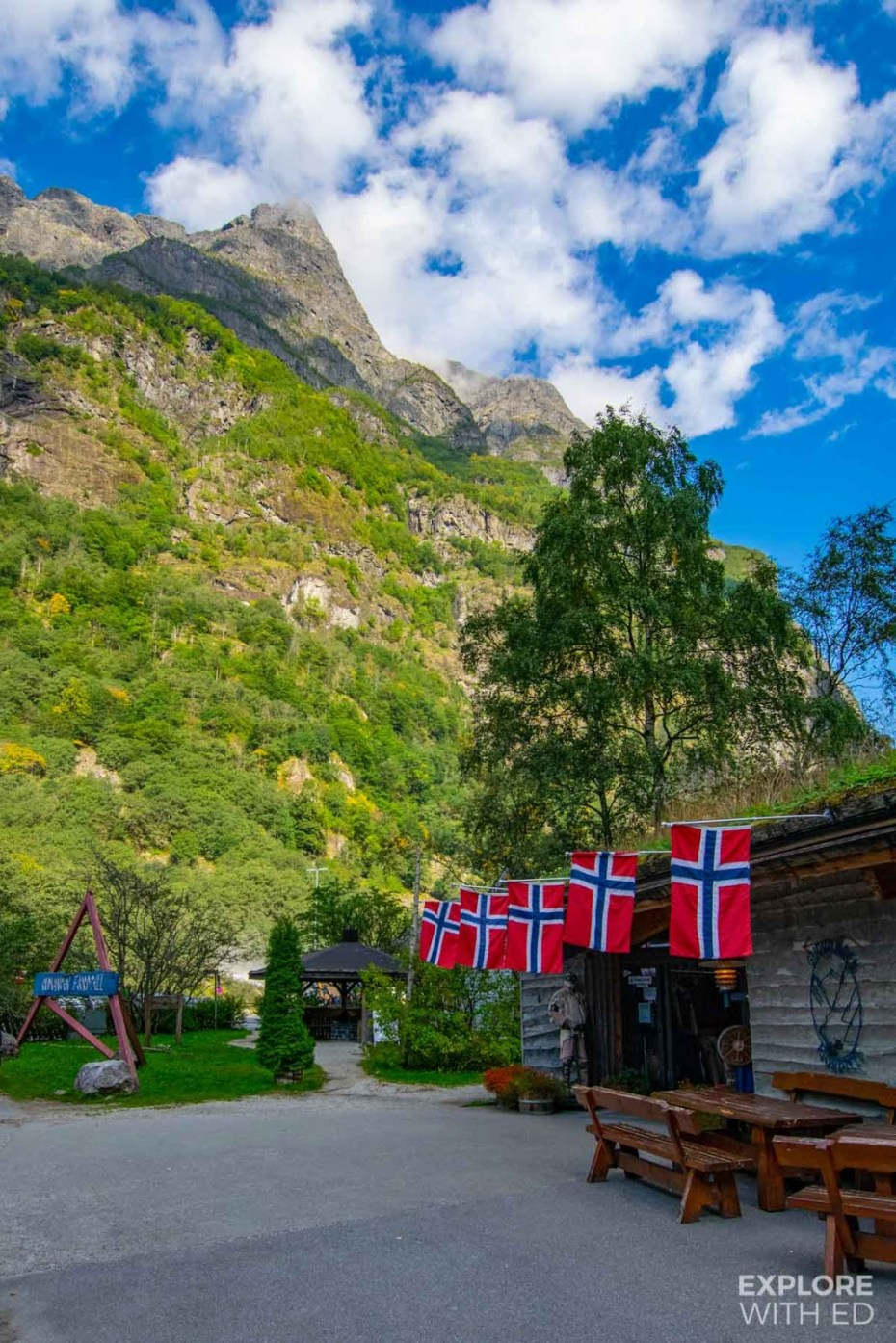 The Njardarheimr Viking Valley experience in Gudvangen