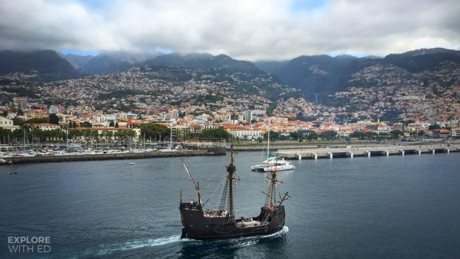Port of Funchal, Santa Maria de Colombo