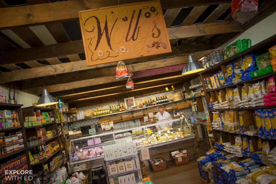 Wally's Delicatessen Royal Arcade Cardiff