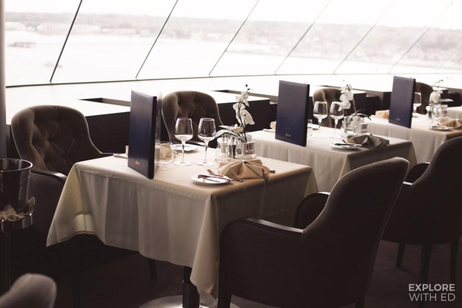 MSC Yacht Club Dining Room and Menu