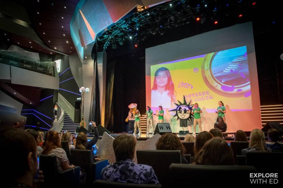 MSC cruises children's entertainment