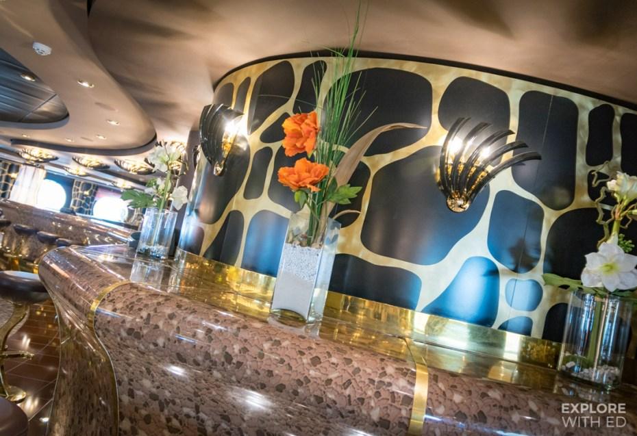 The Safari Lounge Bar Area