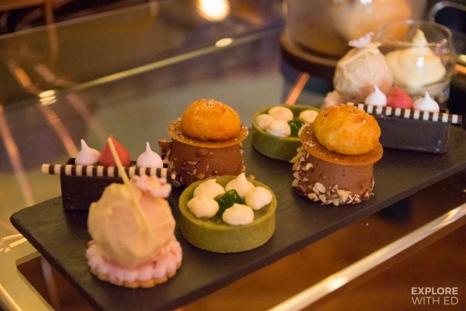 Pastry Perfection (Mulberry Bar, The Celtic Manor)