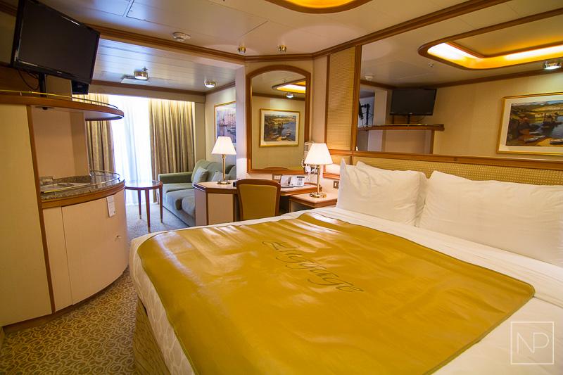 Balcony Cabin onboard Emerald Princess