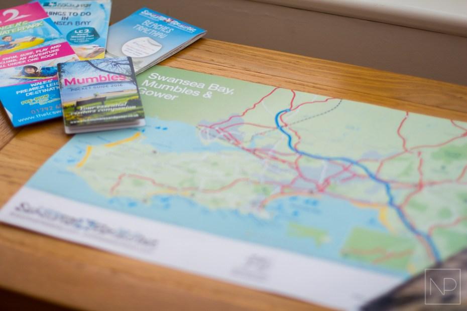 Maps of Swansea Bay