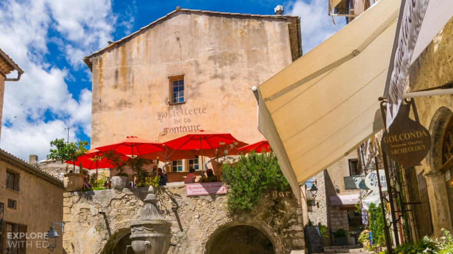 Cafes in Saint Paul de Vence