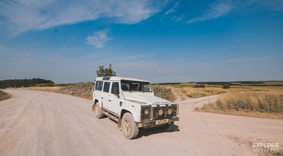 Salisbury Plains Safari in a Land Rover