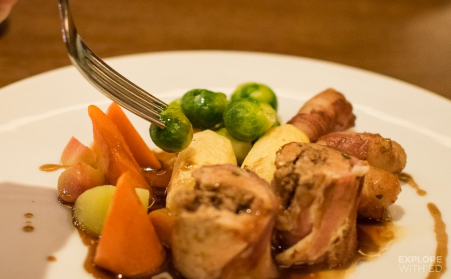 Welsh Turkey Dinner at St Davids Hotel