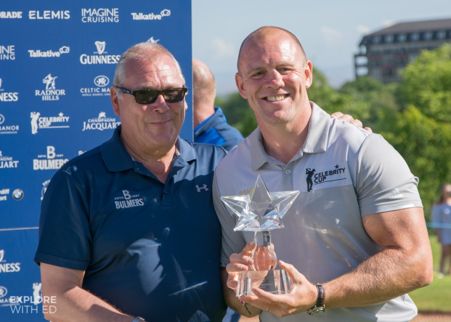 Captain Mike Tindall for The Celebrity Cup 2017