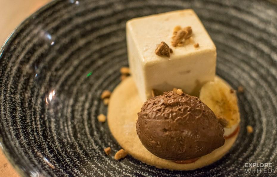 Peanut Butter Parfait, dessert menu at The Rib Smokehouse