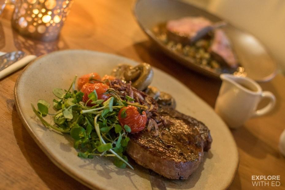 The Rib Eye Steak from Ty Morgans in Rhayader