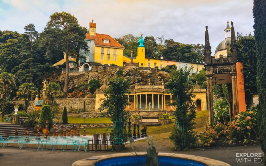 Portmeirion in North Wales