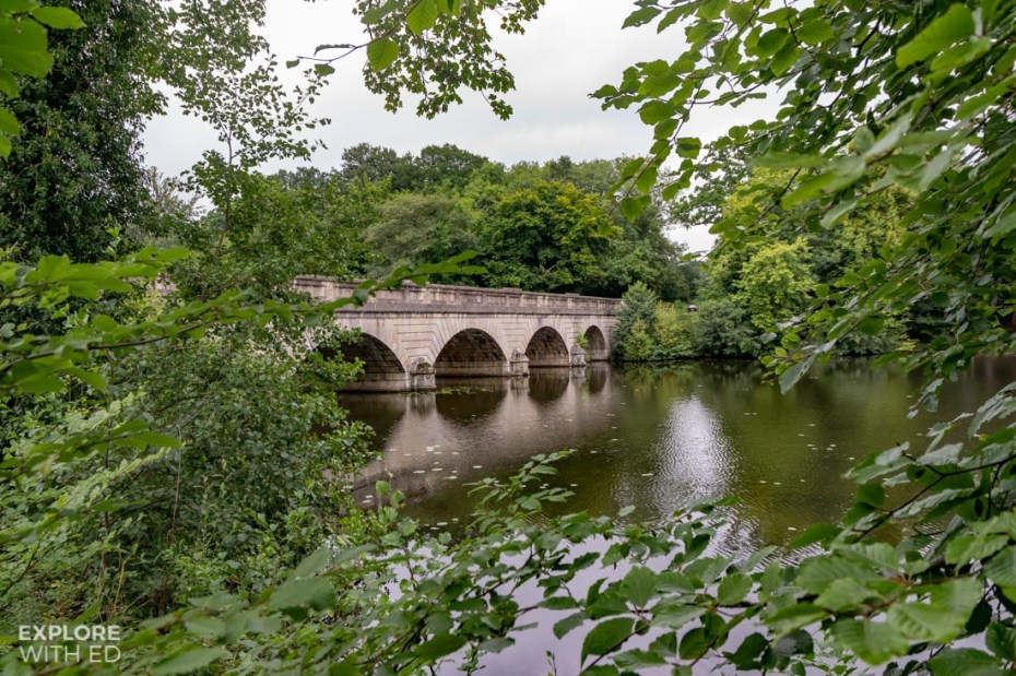 The Five Arches Bridge in Windsor Great Park