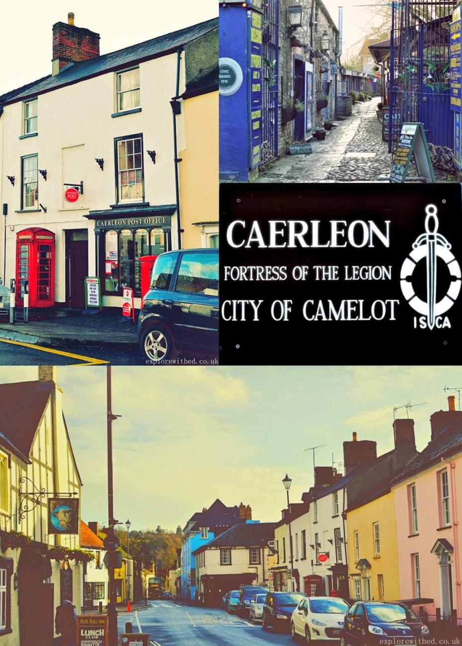 Shops in Caerleon Wales