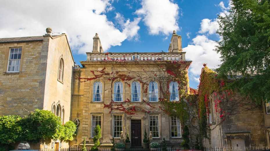 Beautiful buildings in the Cotswolds