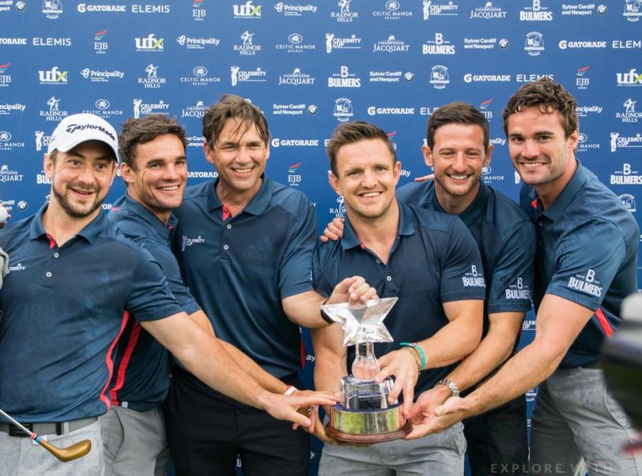 Greig Laidlaw, Max Evans, Dougray Scott, Rory Lawson, Michael Jamieson, Thom Evans, Team Scotland