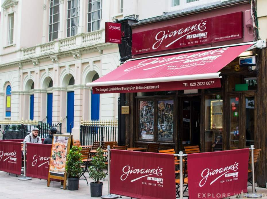Giovanni's in Cardiff on The Hayes