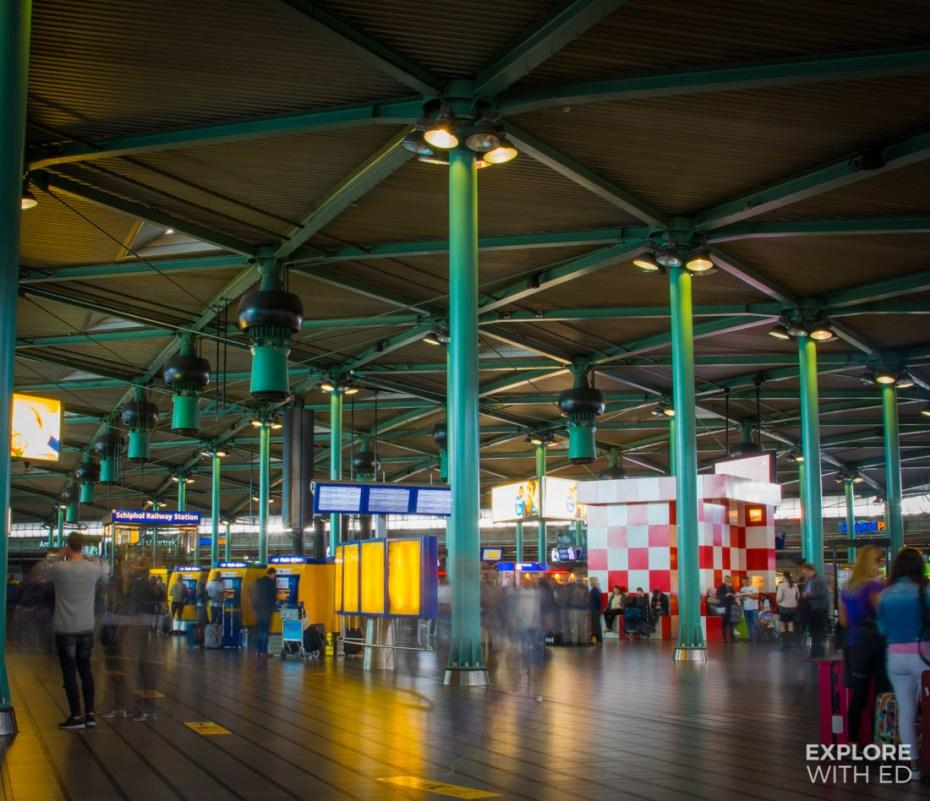 Schiphol Airport Departures