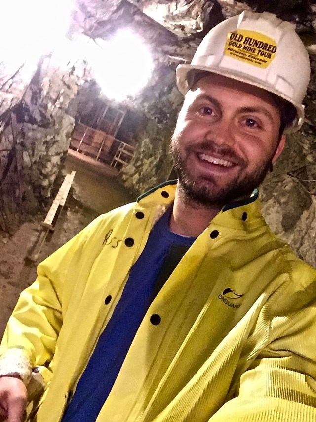 IN A MINE