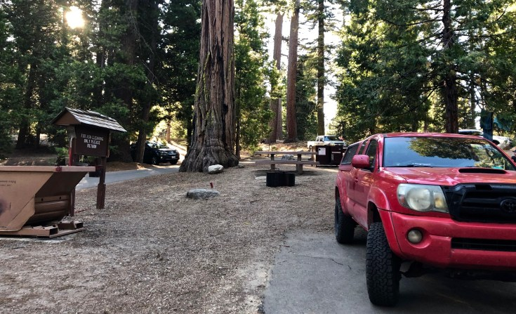 Camping in the Sequoias,The Epic Western US and Canadian Road Trip