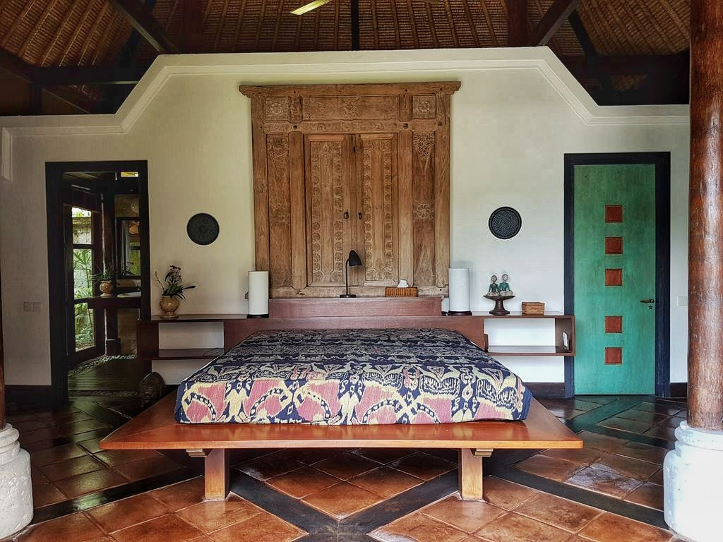 Ubud villa - bedroom 2
