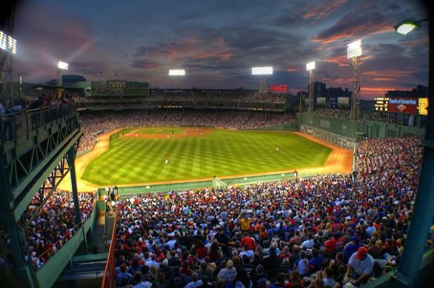 best sports fans Boston
