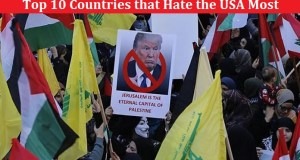 Top 10 Countries that Hate the USA Most 2018