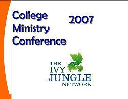 Ivy Jungle College Ministry Conference