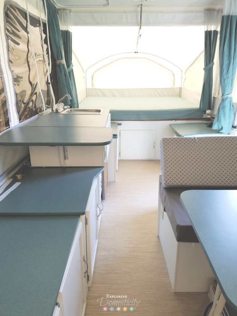 Pop Up Camper Before And After Exploring Domesticity