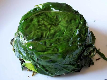 Green Egg unmoulded sm