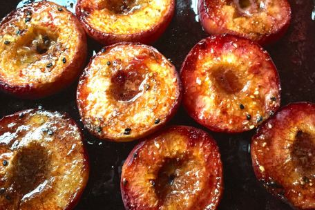 cooked peaches